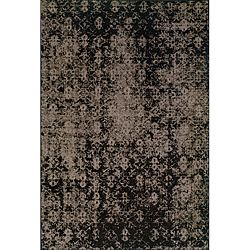 Grey/ Black Area Rug (6'7 x 9'6) | Overstock.com Shopping - Great Deals on Style Haven 5x8 - 6x9 Rugs