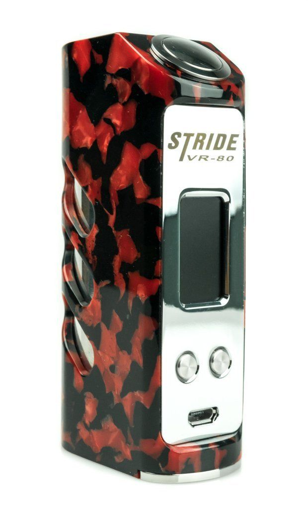 STRIDE 80W BOX MOD - RED