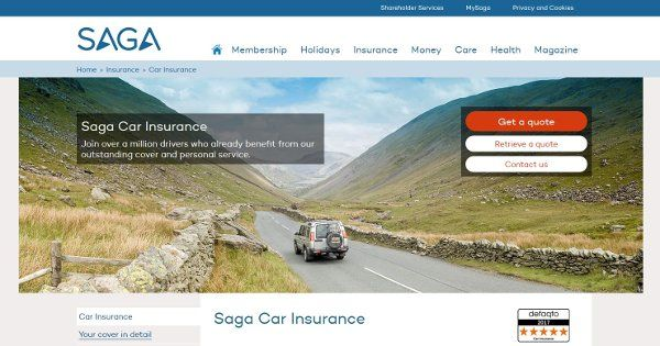 Saga Car Insurance Car Insurance Holiday Insurance Insurance
