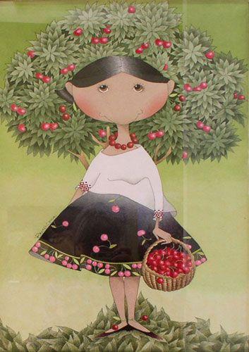 Виктория Процив училась в Львовской академии искусств, выросла в творческой атмосфере. Оба родителей — художники. Её творчество – кукольные смешные девочки, мягкие карикатуры на влюбленных, идеалистические сюжеты – иллюстрации национальных традиций и тому подобное – это и есть тот легкий жанр, в котором нуждается обычный зритель. Все происходит просто: улыбка сама собой сияет на лице, при взгляде на картины Виктории Процив.