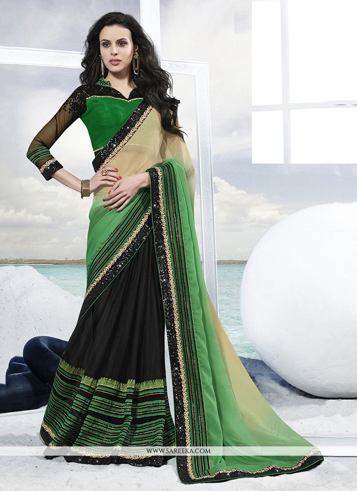 Image result for Four Amazing Sari Variations To Glam Your Party Look