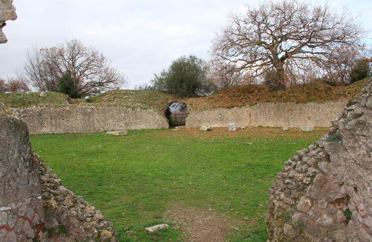 Arena Archeological Park Roselle Grosseto Tuscany Italy