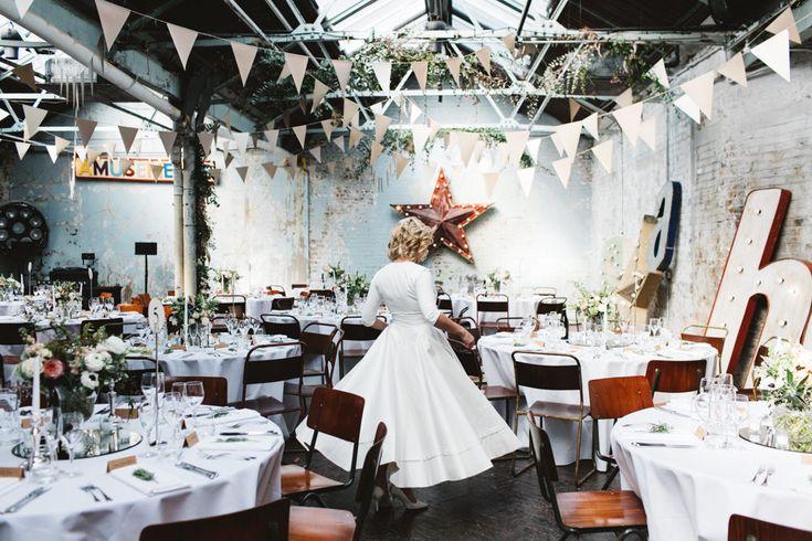 Delphine Manivet Wedding Dress Intimate London Wedding MC Motors