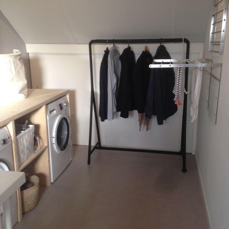 Wasmachine ombouw waskamer laundry