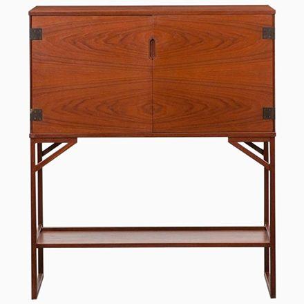 Stunning Mid Century Bar Cabinet by Svend Langkilde Jetzt bestellen unter https moebel ladendirekt de kueche und esszimmer bar moebel bars uid udbced ce