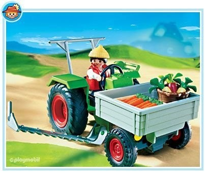 $29.99 Playmobil Farm Tractor  From PLAYMOBIL®   Get it here: http://astore.amazon.com/toys4kids09-20/detail/B0007YF72A/186-4678595-8875665