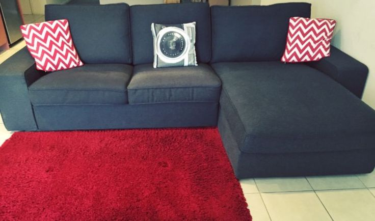Two Seater Sofa with Chaise SALE PENDING | Sofas | Gumtree Australia Melbourne City - Princes Hill | 1079232215