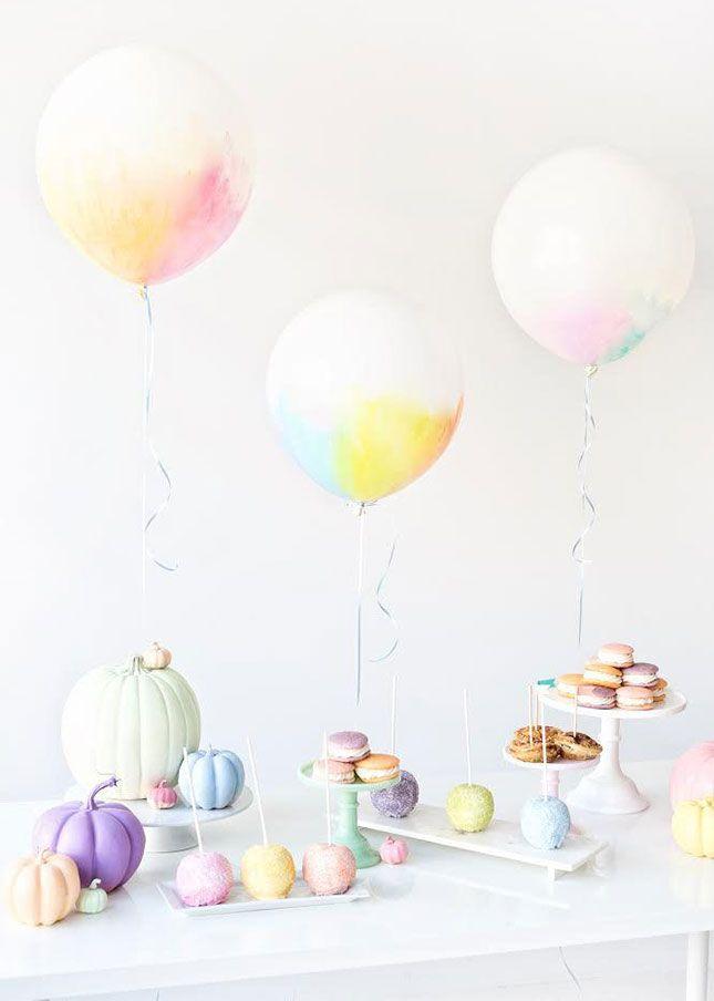 15 Pretty Pastel Pumpkins Preppy Girls Will Love via Brit + Co