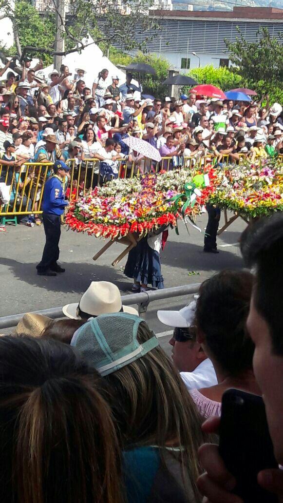En la feria de las flores.Colombia