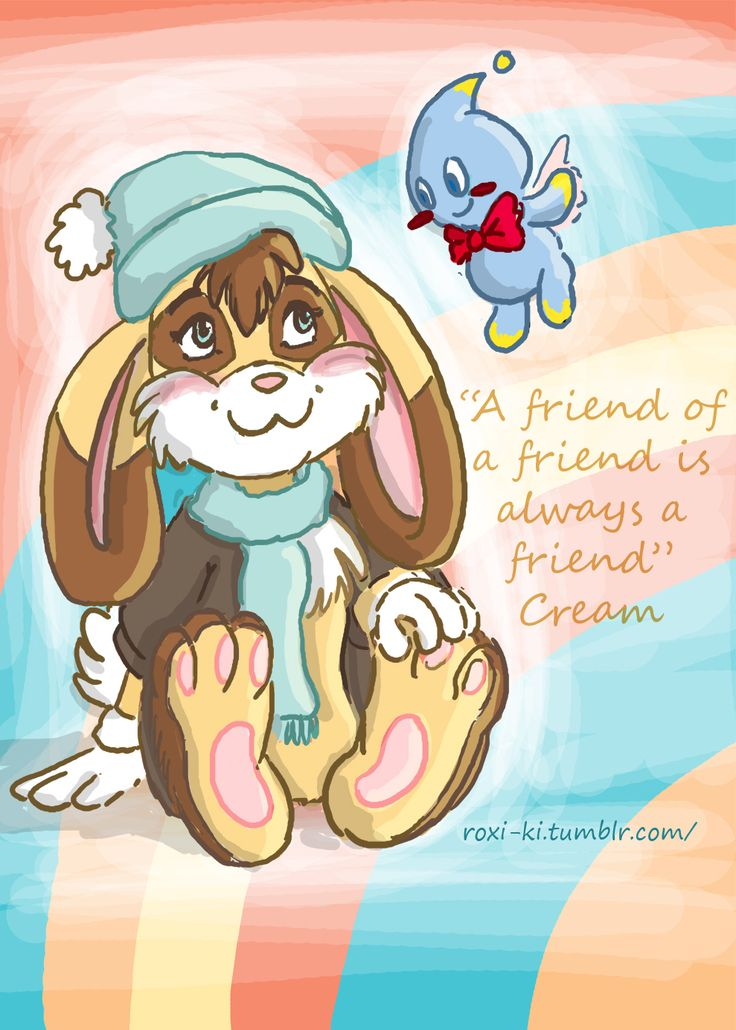 #sonicthehedgehog #sonic #creamcheese #bunny #rabbit #cute #chao #fanart #myartroxi #art