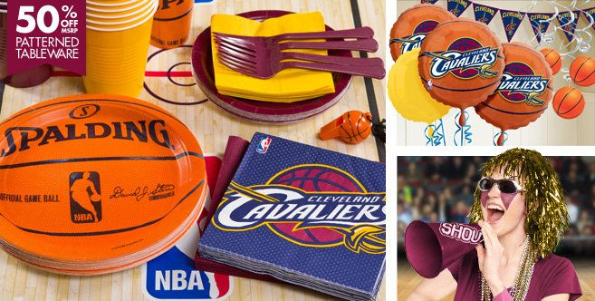 Cleveland Cavaliers Party Supplies Party City Sports