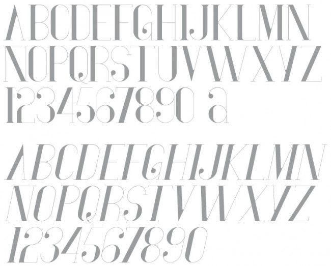 Tipografía Vironica diseñada por Anthony Neil Dart para Neo2. Descarga gratuita en http://www.neo2.es/blog/2012/01/vironica/#