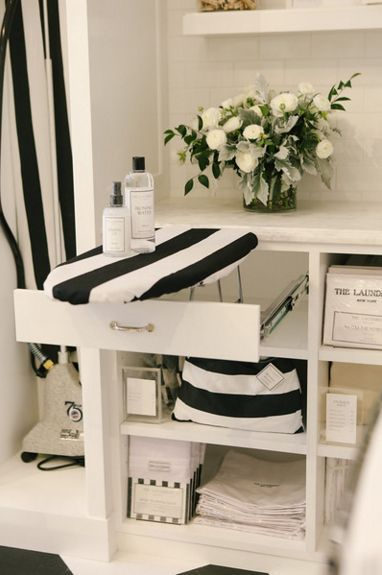 The prettiest set-up at The Laundress flagship store in SoHo. There are regular demonstrations, how-tos and an onsite staff of laundry and home care experts to answer your toughest questions.