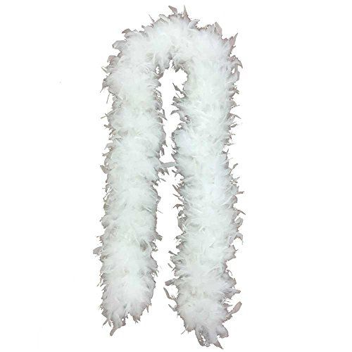 White Feather Boa Costume Accessory - 6' 12.88 View the full Halloween content here https://hallowmix.com/shop/halloween-costumes/white-feather-boa-costume-accessory-6/