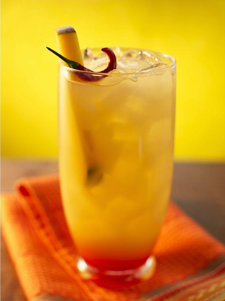 Персиковый лимонад с манго