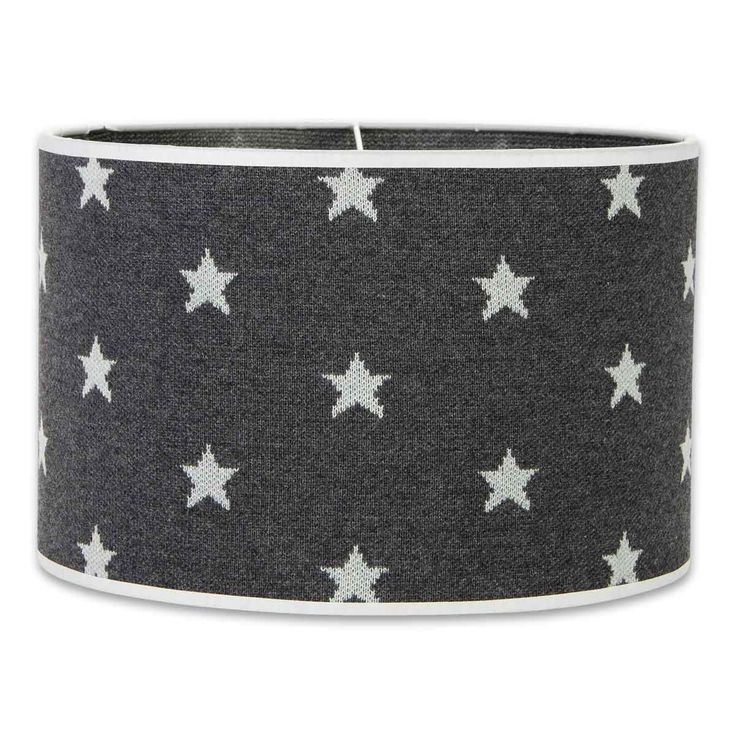Lampshade Star 30cm - grey By Baby's Only