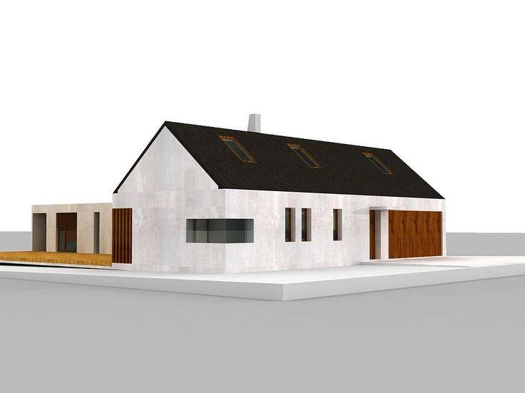 Projekty domů, interiérů a drobných objektů.