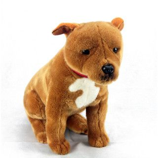 Staffy Staffordshire Bull Terrier Brown Soft Plush Toy
