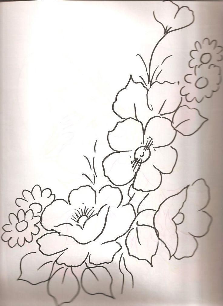 Resultado De Imagen Para Imagenes De Flores Para Pintar En
