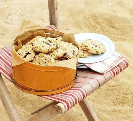 Chunky chocolate cookies recipe - Recipes - BBC Good Food