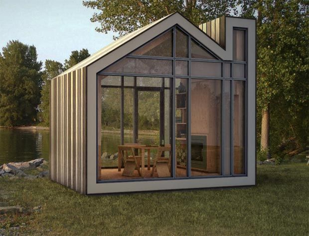 40 best images about simple design of the prefab sheds on for Small modern shed