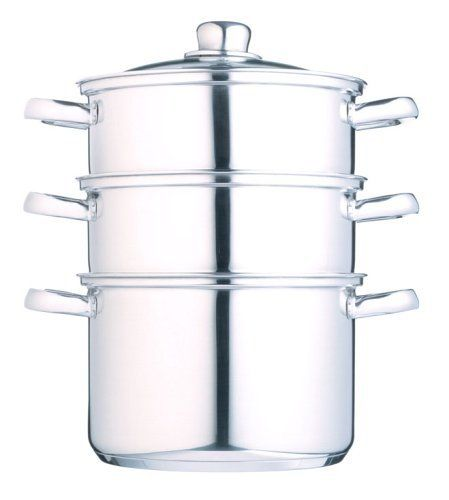 Kitchen Craft Three Tier Steamer Set by Kitchen Craft, http://www.amazon.co.uk/dp/B0001IWY9Q/ref=cm_sw_r_pi_dp_r0BBsb1PZMG9F
