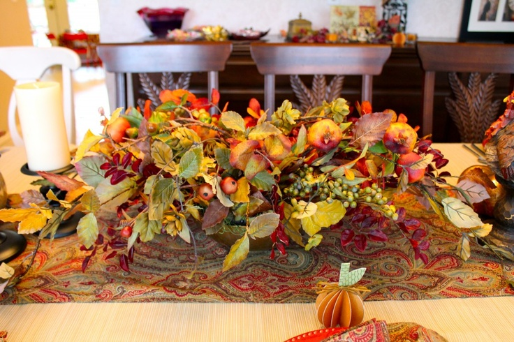 Easy Diy Thanksgiving Centerpiece Fall Diy Pinterest