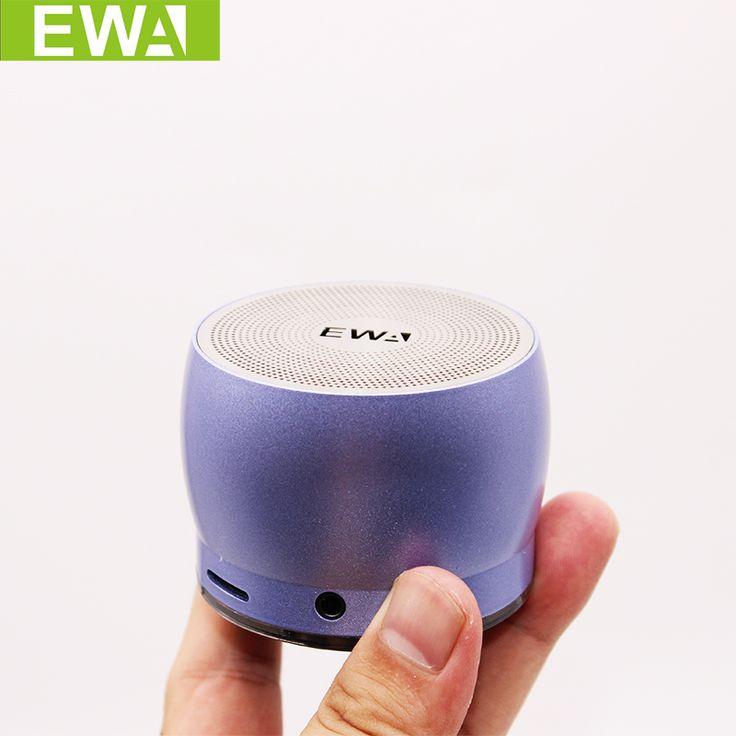 EWA A116 Bluetooth Portable Speaker Bass Metal Material Outdoor Fashionable Small Speaker Original EWa Brand Speakers #Affiliate