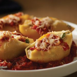 Freeze a batch of Stuffed Shells just in case. Just in case you need to feed a crowd. Just in case expected company shows up for dinner. Just in case you need some comfort food.