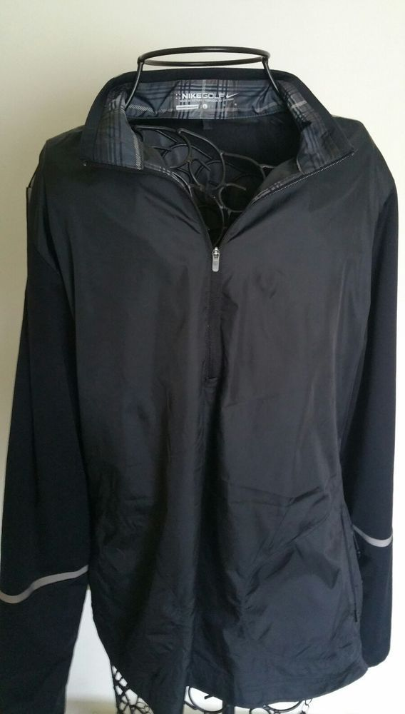 NIKE LADIES GOLF PULLOVER ~WATER PROOF~1/4 ZIP SIZE LARGE~NIKE GOLF  WINDBREAKER | Sporting Goods, Golf, Golf Clothing, Shoes & Accs | eBay!