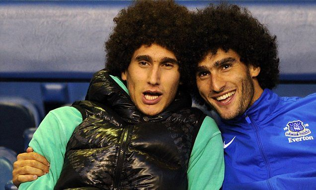 Marouane Fellaini twin mix-up had Chelsea players sweating