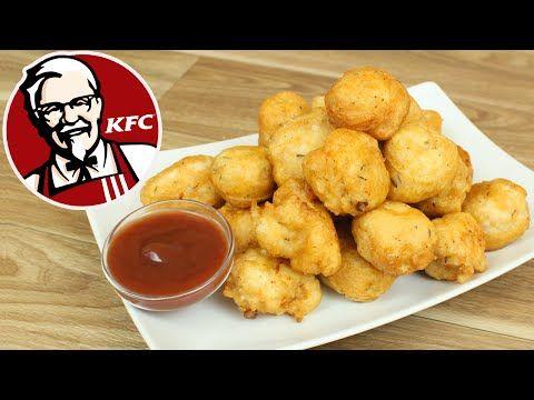 Palomitas de pollo estilo KFC   Cocina