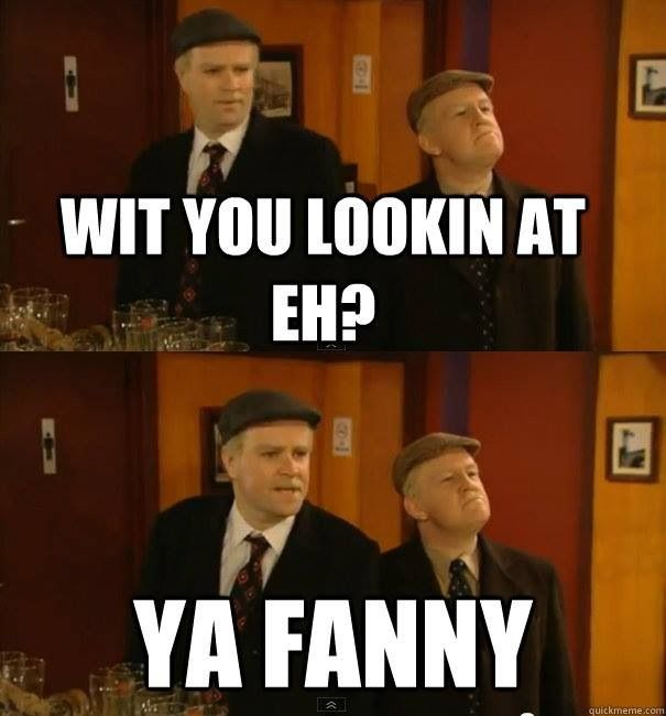 Still Game- A comedy about crabbit/tempremental old men who realise they are not getting any younger.