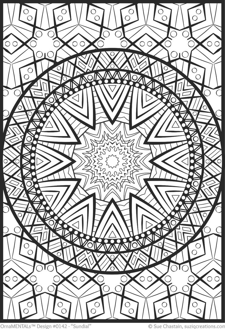 519 Best Images About Mandalas Coloring Pages On Pinterest