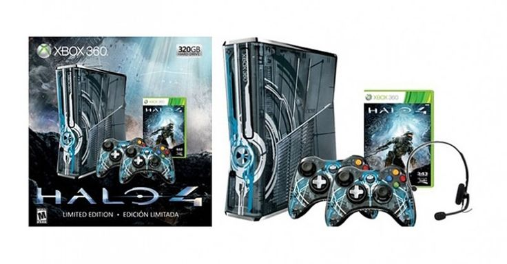 Xbox-360 Halo 4 Limited Edition