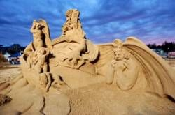 sculture sabbia cervia