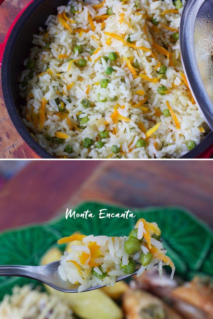 O Arroz à Grega vai desde ao arroz servido no dia a dia, até o arroz de festa servida nas ceias do final do ano. É fácil e prático, quase …