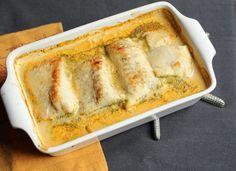 Ovenschotel met kabeljauw, prei en wortelen 7pt