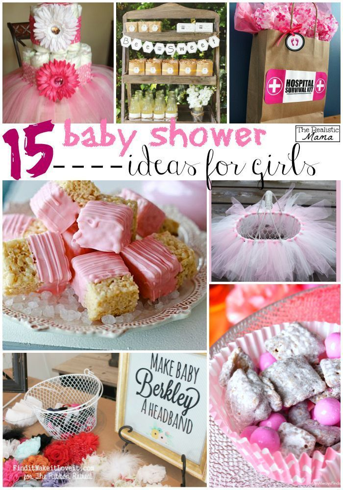 Pictures of baby shower ideas