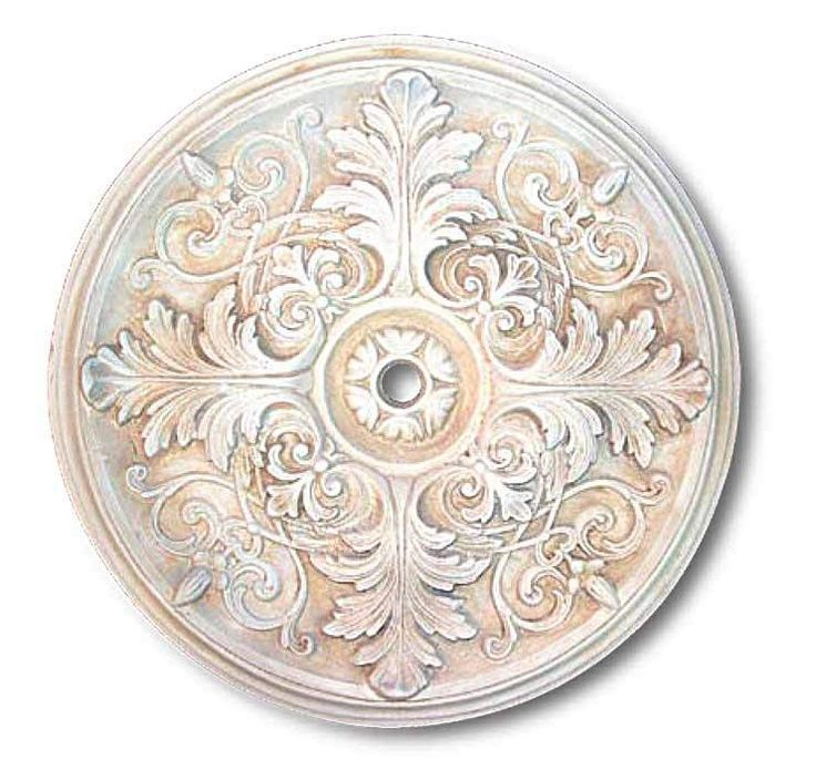 Victorian Ceiling Medallions | More like this: white ceiling , ceiling medallions and ceilings .