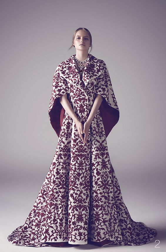 nothing less than royal for your big day: Mohammed Ashi's Fall 2014 Couture Bridal Gowns #oriental #bridal #caftan