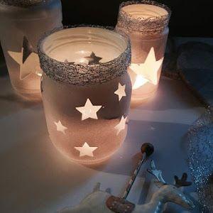 Come costruire Snow Globe fai-da-te in barattoli di vetro - Riciclo creativo - idee creative, riciclo creativo, fai da te creativo, lavori creativi | myCandyCountry.it