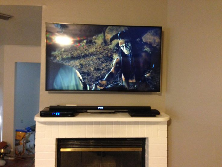 Flat Screen Mounting and wire hiding. www.sjpnetwork.com
