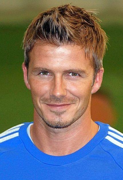 David Beckham - hairstyle