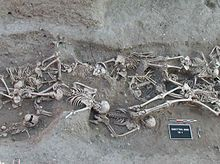 The Black Death was one of the most devastating pandemics in human history, resulting in the deaths of an estimated 75 to 200 million people in Eurasia and peaking in Europe in the years 1346–1353.[1][2][3] Although there were several competing theories as to the cause of the Black Death, analyses of DNA from people in northern and southern Europe published in 2010 and 2011 indicates that the pathogen responsible was the Yersinia pestis bacterium, resulting in several forms of plague.[4][5]…