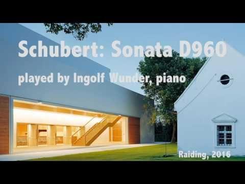 Ingolf Wunder - F. Schubert, Sonata D960