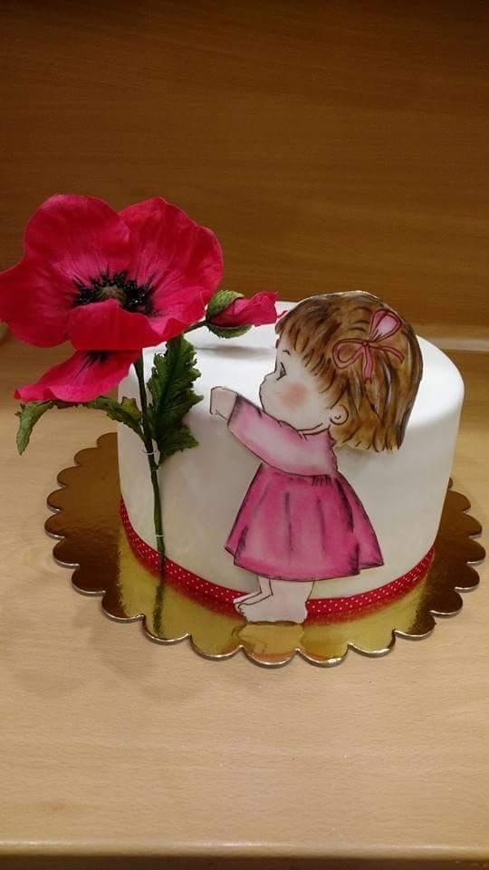 Tortička pre Zuzanku torta, Torty pre dievčatá