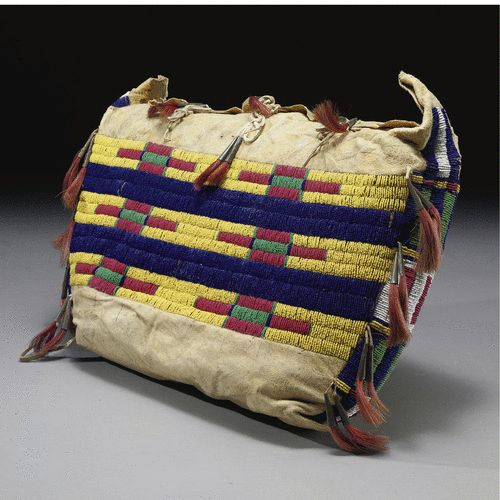 A Cheyenne Beaded Hide Possible Bag | Lot | Sotheby's