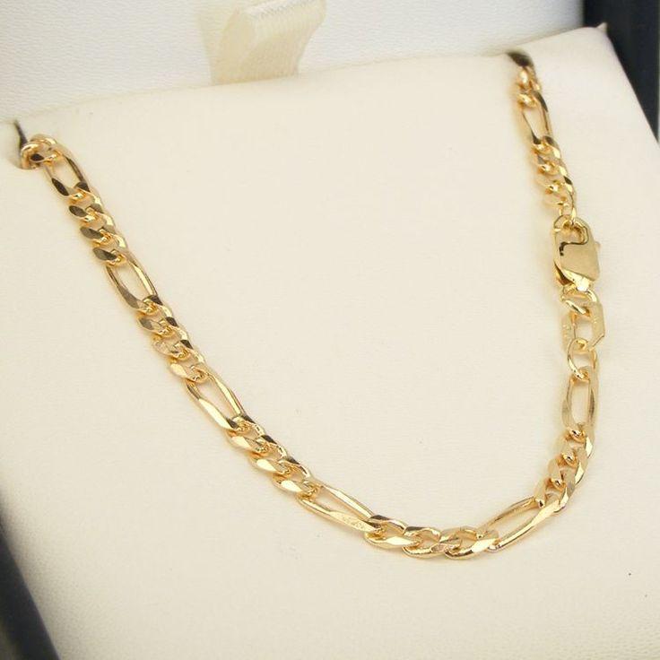 9ct Gold Figaro 13 Chain - MM-F13-0004