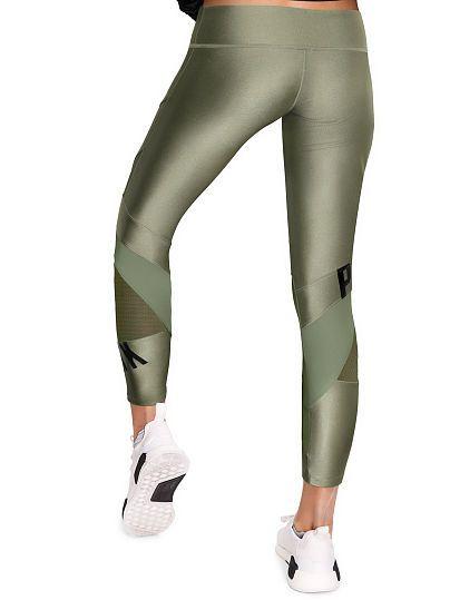 a03da0cb529f3 Ultimate Shine Mesh Ankle Legging - PINK - Victoria's Secret | Vs ...